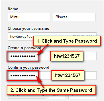 Choose-Password-for-Gmail