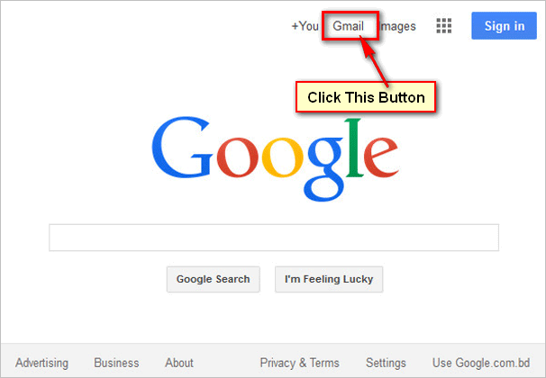 Gmail Sign In on Google New Interface