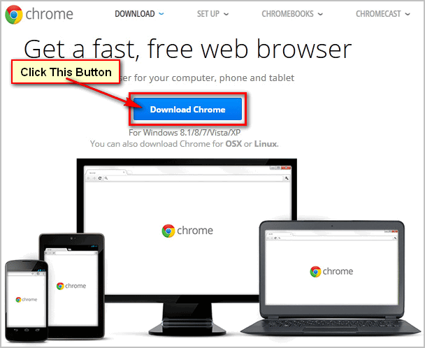 How to Download and Install Google Chrome Browser on Windows 7