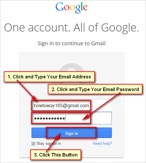 Login-Gmail-Account