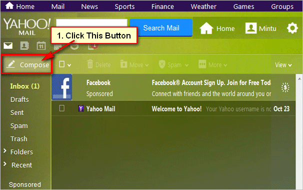 Compose-New-Mail-on-Yahoo
