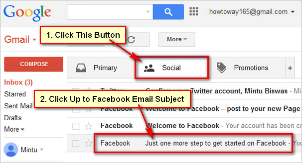 Facebook-Email-Confirm-Mail