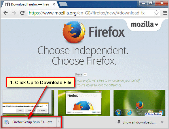 How to Download and Install Mozilla Firefox Latest Version on Windows 7