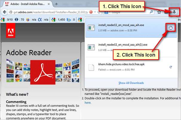 install adobe reader for windows 10