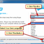 Select-Language-for-Skype