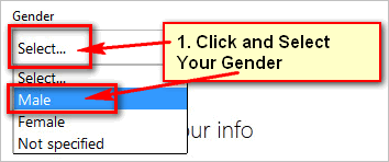 Select-your-gender