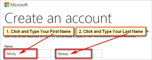 Hotmail-account-name