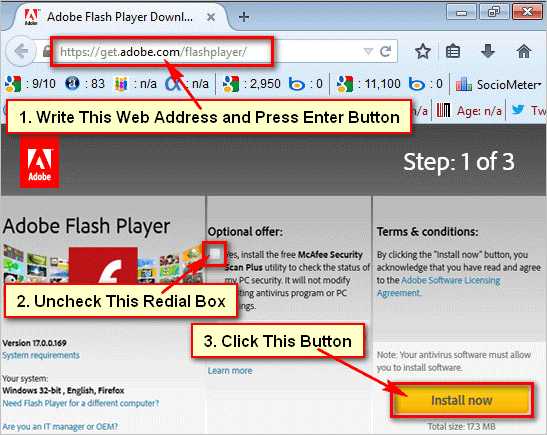latest version of adobe flash player software free