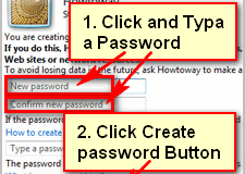 Add new password on Windows 7
