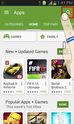 Search on Google Play
