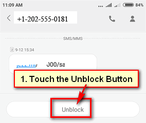 How to Unblock Message Blocking on Android