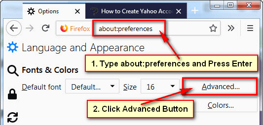 How to Change the Default Font in Firefox Web Browser
