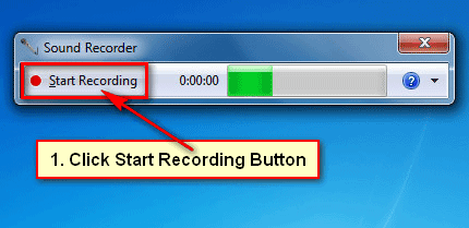 How to record audio on Windows 7