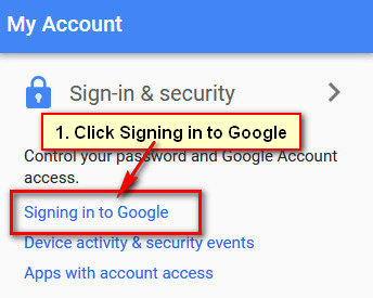 How to Remove 2 Step Verification Gmail without Phone