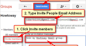 Invite members to Join your Group on Gmail