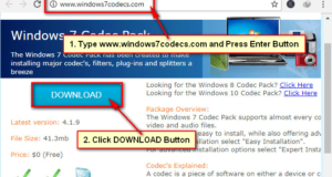 Windows 7 Codec Download