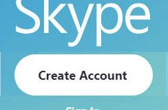 Create a Skype Account
