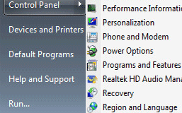 How to Show the Control Panel as a Submenu on the Start Menu in Windows 7
