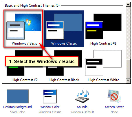 How to Change Windows 7 Classic View to Normal