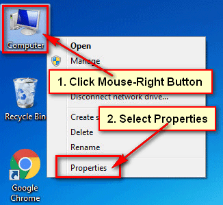 How to Know My Computer configuration in Windows 7