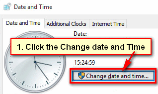 How to Change Time on Windows