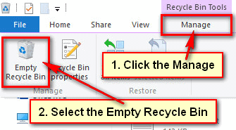 How to Empty Recycle Bin in Windows 10