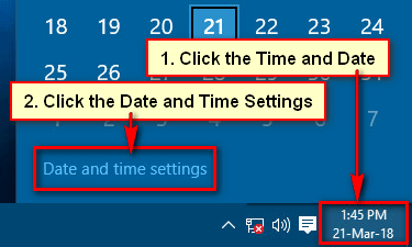 Windows 10 Cannot Change Time and Date