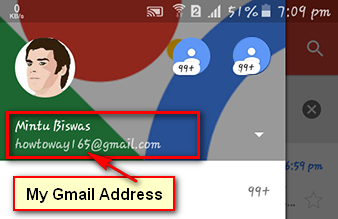 How to Find Owner of Email Address in Gmail on Android