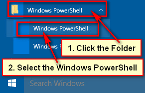 How to Open Windows 10 PowerShell