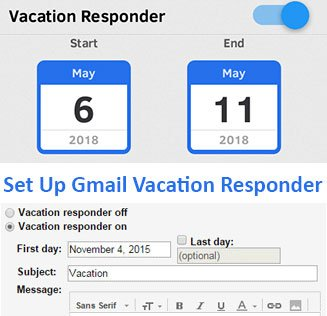 Set Up Gmail Vacation Responder on Computer and Mobile