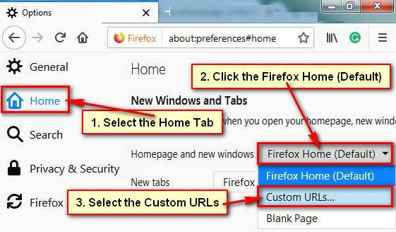 How to Add a Website on Mozilla Firefox Homepage