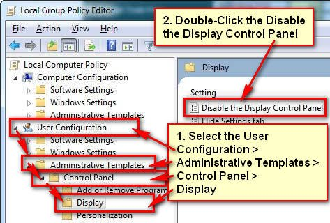 How to Enable Control Panel in Windows 7